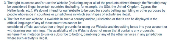 Picture 1. 1xBet bookmaker is not responsible for the quality of services in India.