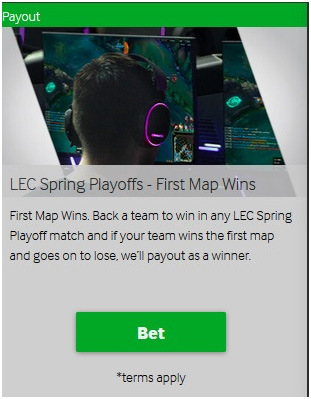 Picture 12. Special offer for viewersof LEC Spring Playoffs.
