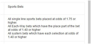 Picture 15. What events are considered for wagering for sports betting.