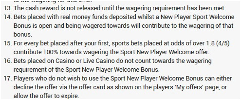 Picture 15. About wagering in the betting section.